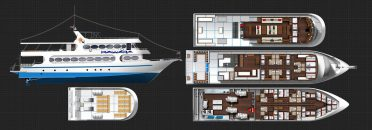 Scuba Diving Phuket - MV Pawara Liveaboard plan