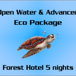Cours PADI Open Water et Advanced - Forfait Eco
