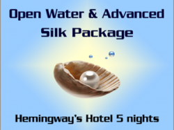 Cours PADI Open Water et Advanced - Forfait Silk